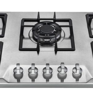 Achat de cuisson 5 feux gaz 90cm inox smartcook Ile de la Reunion