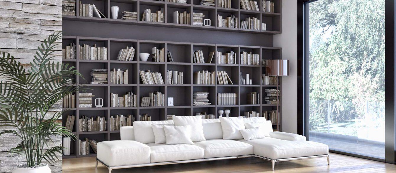 Achat meuble sur mesure Ile de la Réunion bibliothèque sur mesure